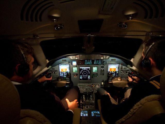 Citation XLS - Cockpit